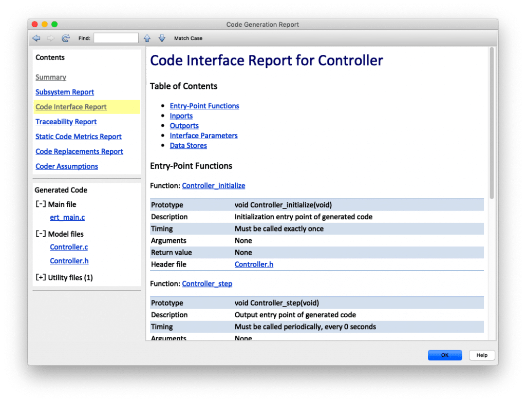 ntegrate generated code into existing applications